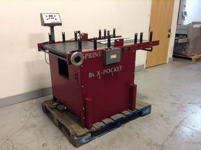 Moll Sprint-Box pocket folding machne