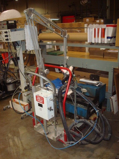 Nordson 3500 mobile hot melt glue system