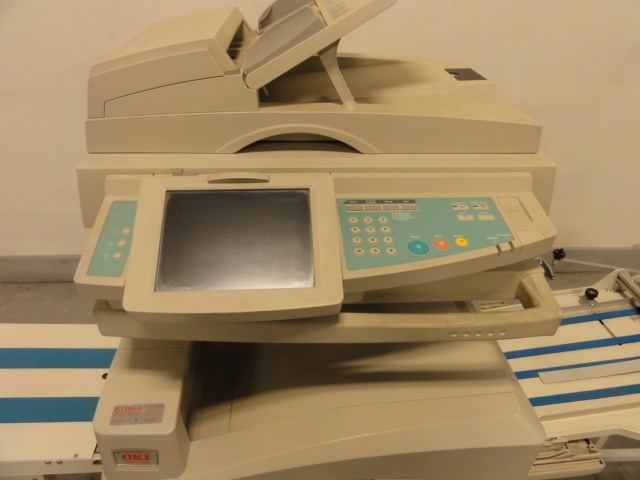 Oki-Data NS1202 or RX4004A digital color printer with envelope feeder