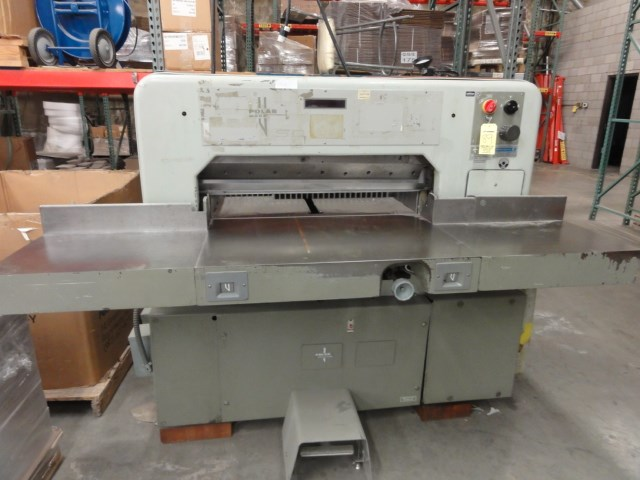 """Polar 92 SD 36"""" paper cutter"""