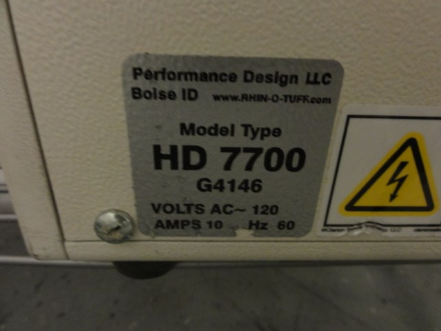 Rhino Tuff HD-7700 ultima power punch