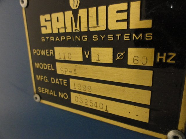 Samuel SA-625/SP-4 plastic bander