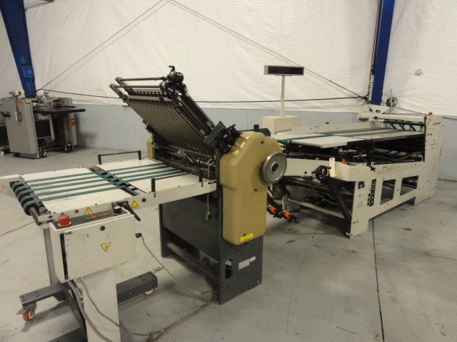 """Stahl 1426B 26"""" continuous fed folder"""