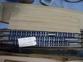 Stahl 56 size rollers segmented