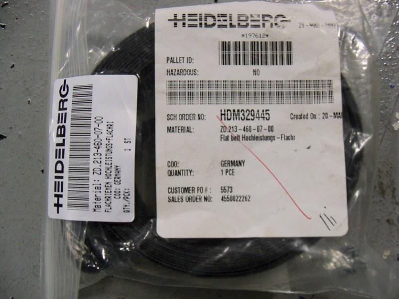 Heidelberg Stahl flat belt