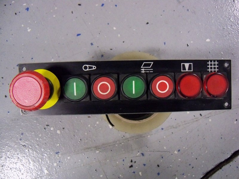 Stahl switch control panel