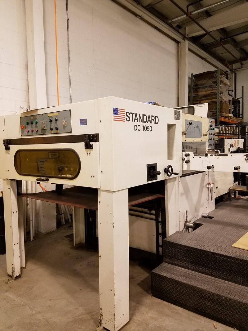 Standard DC 1050 die cutter