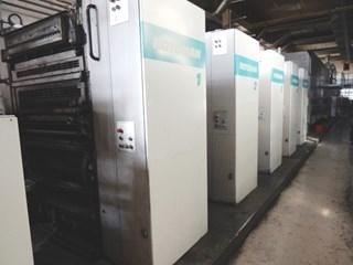 Rotary printing machine Manroland Rotoman N