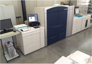 Xerox 1000 with Clear Dry Ink