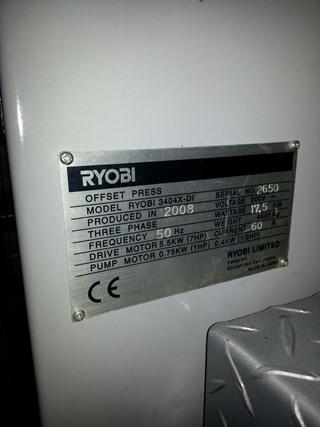 RYOBI 3404 X-DI