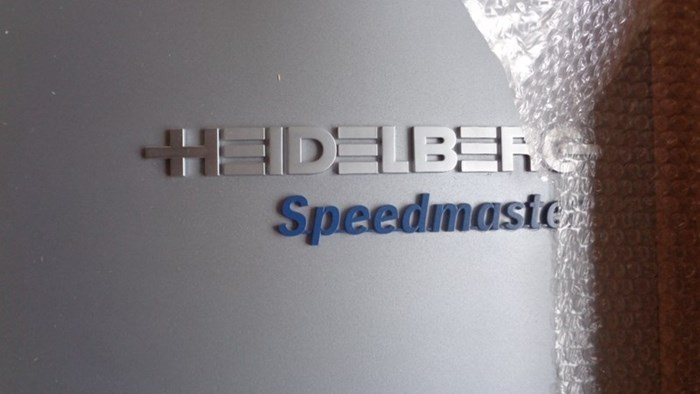 Cover for Heidelberg Speedmaster
