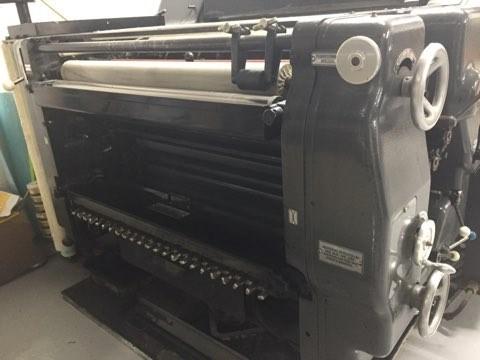 Heidelberg KORS Offset press 52 X 72 cm