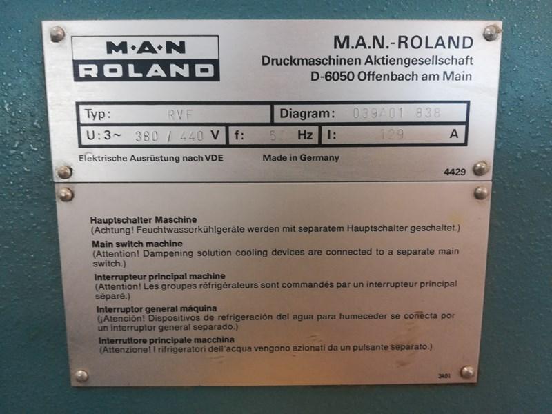 Man-Roland  RVF 0B