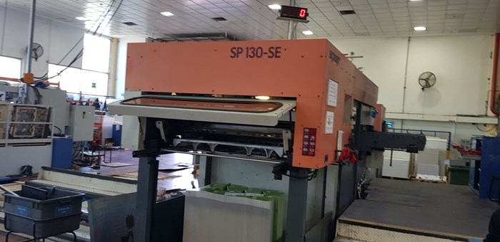 Bobst SP 130 SE automatic diecutter