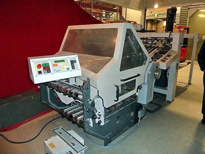 Heidelberg KD94/4KTL combination folding machine
