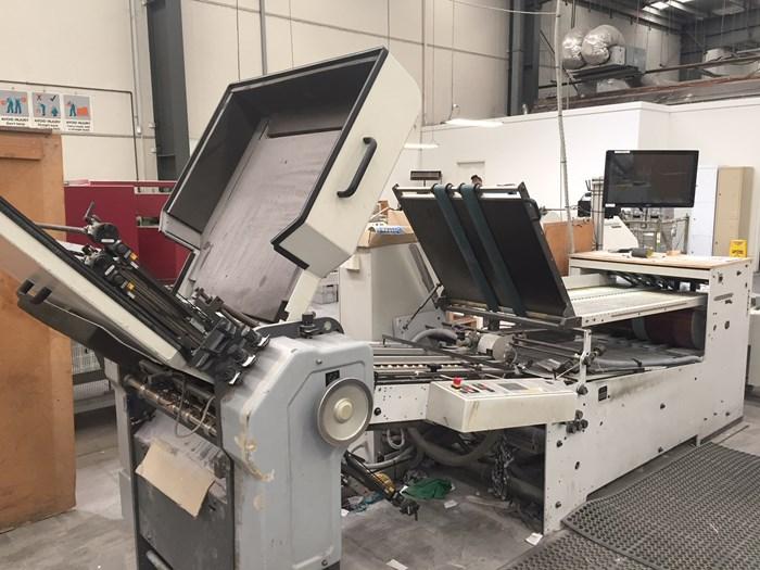 Heidelberg TD66/4 all buckle folding machine
