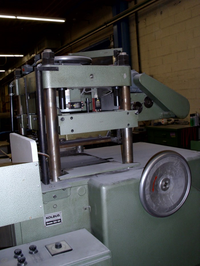 Kolbu PF semi automatic embossing press