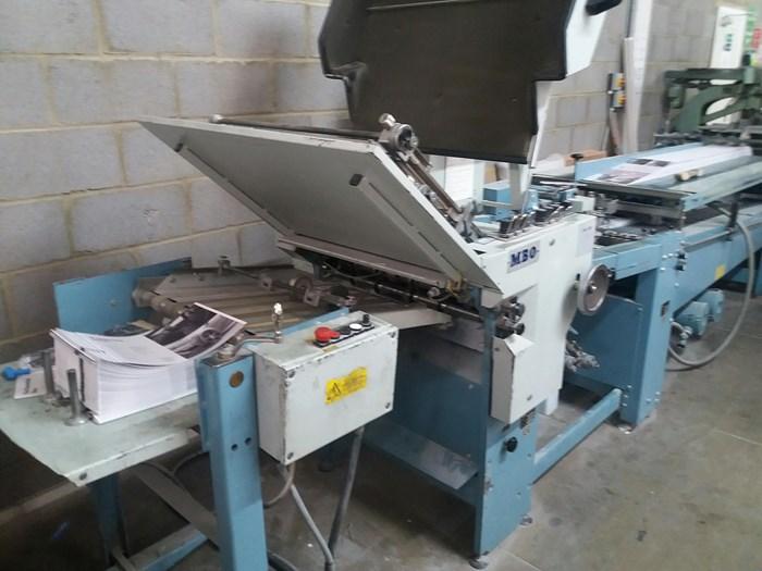 MBO B123-C all buckle folding machine