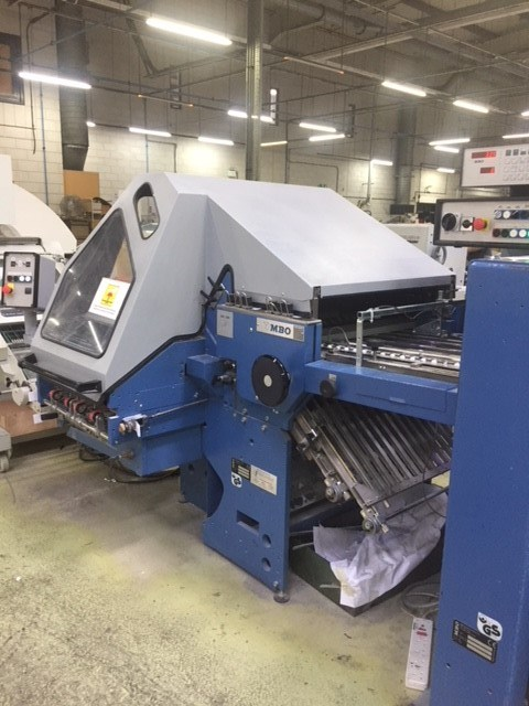 MBO K760/4 S-KTL combination folding machine