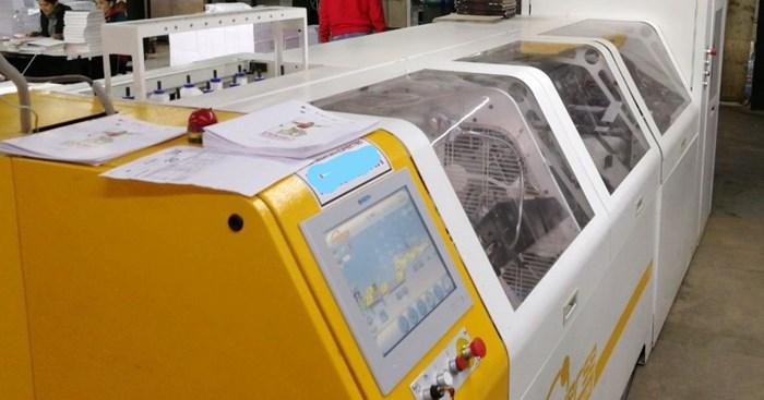 Meccanotecnica Universe sewing machine Sheet Fed