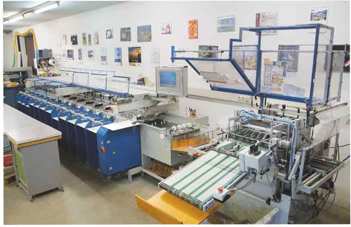 MKW-Rapid UT -12 B3 GS gatherer and booklet maker