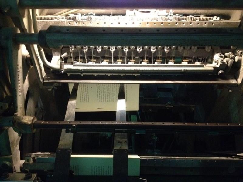 Muller Martini Inventa Plus thread sewing machine