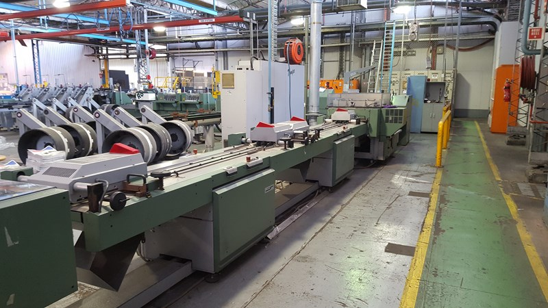 Mulller Martini Tempo 20 saddlestitching line