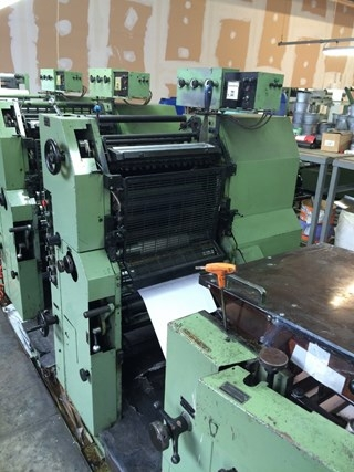 Miyakoshi MSP Offset forms press