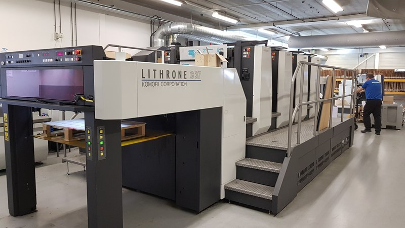 KOMORI LITHRONE GL 437 (H) H-UV-L
