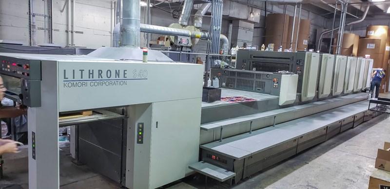 KOMORI LITHRONE LS 640+C (H) - Hybrid UV/IR