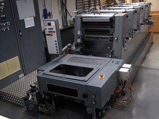 Heidelberg GTOF-52+ UV + IR waterless