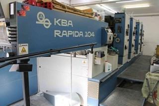 KBA Rapida 104-4 SW