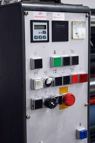 ERP 50449 Heidelberg GTO 52-2 P 2-Farben Druckmaschine