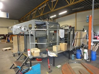 Bobst 1080E Autoplaten with Stripping
