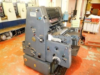 Heidelberg GTO 46 Plus with N + P