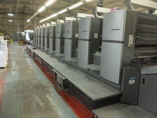 Heidelberg SM 102-10 P6 Ten Colour Offset Press