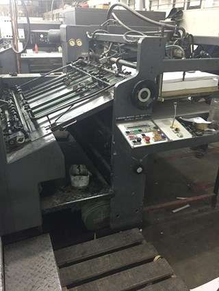 Heidelberg SM CD 102 5 + LX Five Colout Offset Press