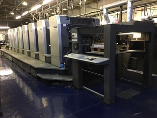 Heidelberg SM 102 8 P Eight Colour Offset Press