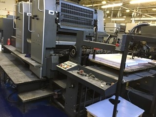 Heidelberg SM 102 ZP Two Colour Offset Press