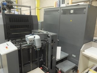 Heidelberg Speedmaster 52 4 + LX Four Colour Offset Press