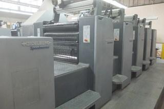 Heidelberg SM 74 5P3 + L Five Colour Offset Press