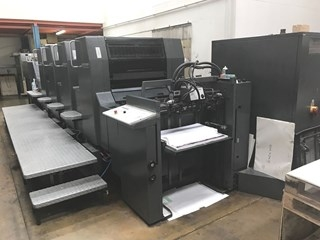 Heidelberg Speedmaster SM 74 4P Four Colour Offset Press