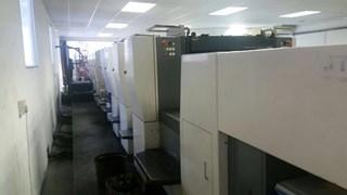 Komori Lithrone L828P Eight Colour Offset Press