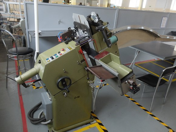 Blumer D18 Label Punching Machine