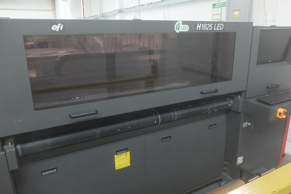 EFI H1625 LED UV Digital Press