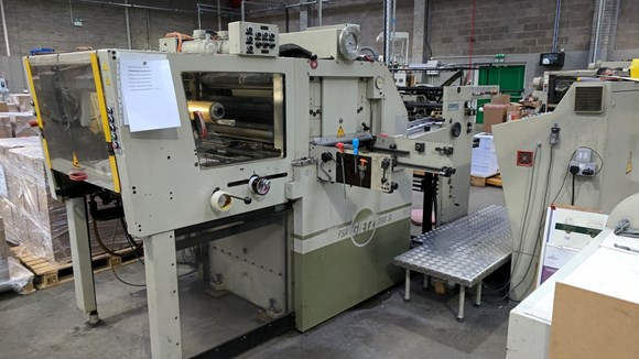 Gietz FSA 790S Hot Foil Stamping Machine