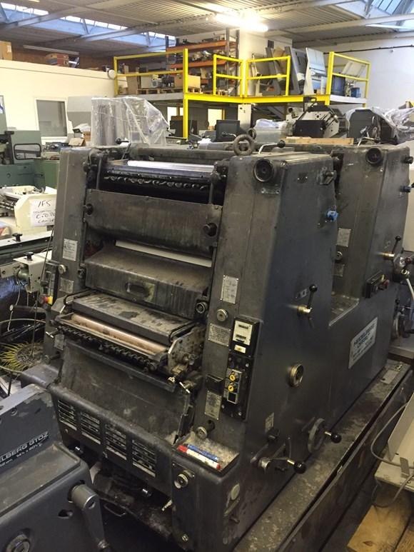 Heidelberg GTO 46 ZP Two Colour Offset Press