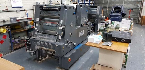 Heidelberg GTO ZP 46 + Version