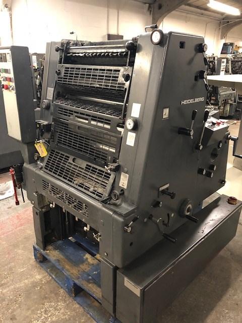 Heidelberg GTO 52 + Version Single Colour Offset Press