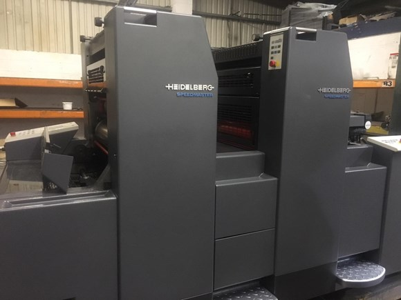 Heidelberg SM 52 2 P Two Colour Offset Press